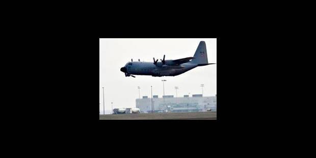 Première intervention du C-130 belge au Mali - La Libre