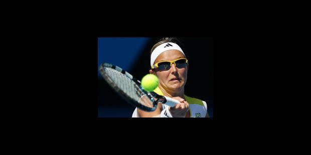 Kirsten Flipkens éliminée par Maria Sharapova en 8e de finale
