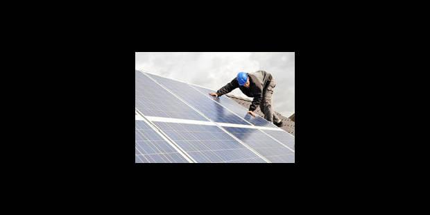 Réforme des certificats verts: le photovoltaïque moins intéressant - La Libre