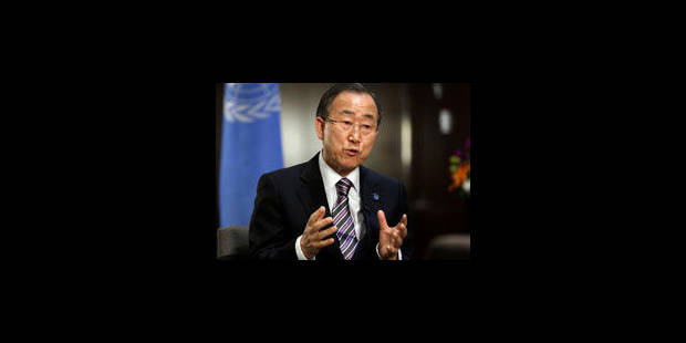 Ban Ki-moon félicite la Belgique - La Libre