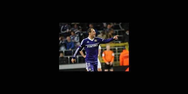 Anderlecht s'impose au petit trot (1-0)