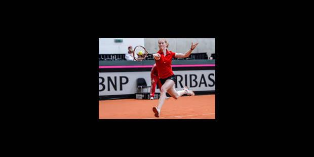 Fed Cup : Battue par la Suisse, la Belgique jouera les barrages - La Libre