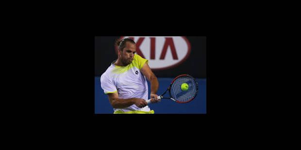 ATP San José: Xavier Malisse qualifié pour le deuxième tour - La Libre