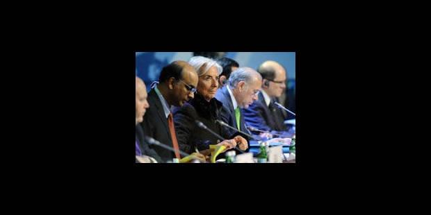 """Le G20 appelle à adopter """"Bâle III"""" aussi vite que possible - La Libre"""