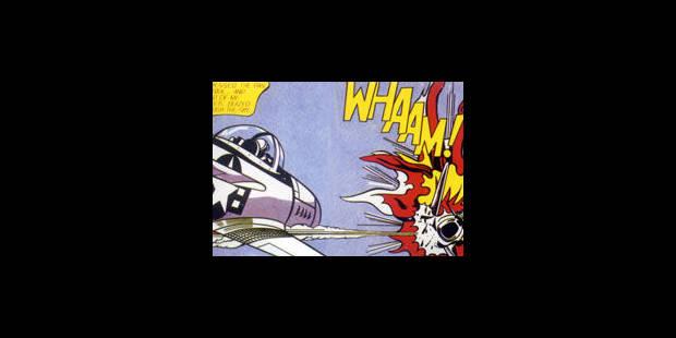 Lichtenstein met la peinture aux points - La Libre