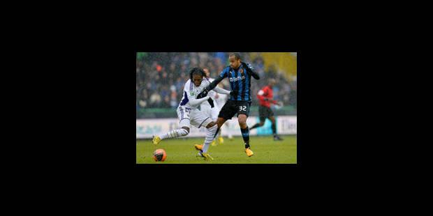 Match nul mais plein entre le Club et Anderlecht (2-2)