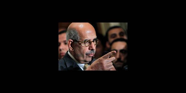 """ElBaradei : """"Des élections en avril conduiront le pays au chaos"""" - La Libre"""