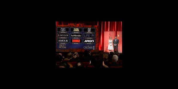 Oscars 2013: Google fait ses pronostics