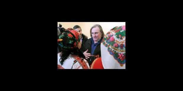 Depardieu veut tourner un film sur la Tchétchénie - La Libre