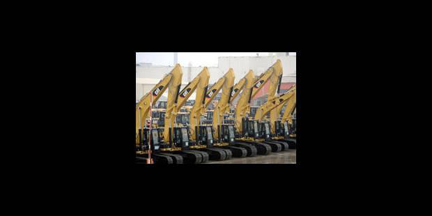 850 emplois supprimés chez Caterpillar à Gosselies? - La Libre
