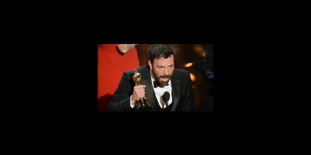 """""""Argo"""" décroche l'Oscar du meilleur film"""