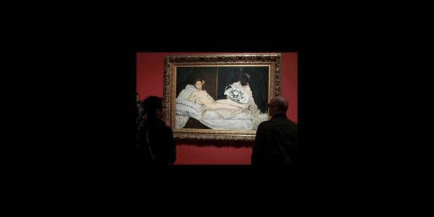 L'Olympia de Manet obtient son passeport pour Venise - La Libre