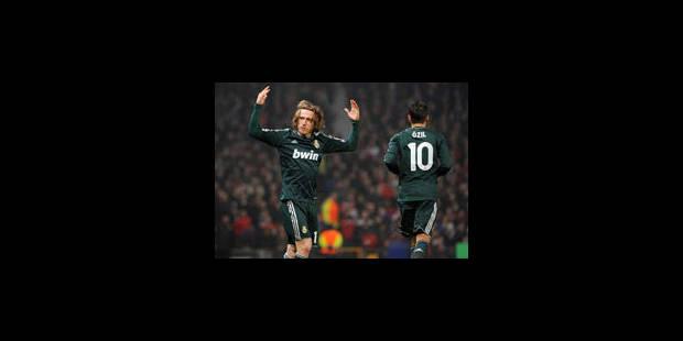 Le Real Madrid se qualifie sur le terrain de Manchester (1-2) - La Libre