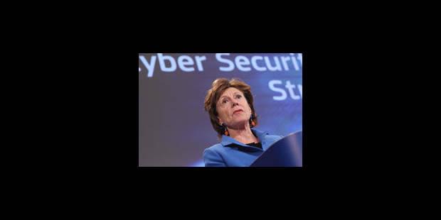 Neelie Kroes fait la leçon à Bruxelles concernant la 4G - La Libre