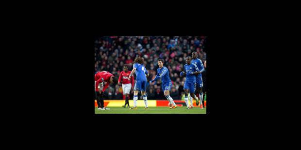 Hazard et Chelsea pousse ManU au replay (2-2) - La Libre