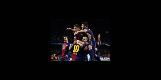 Le Barca s'offre une remontée de rêve et file en quart - La Libre