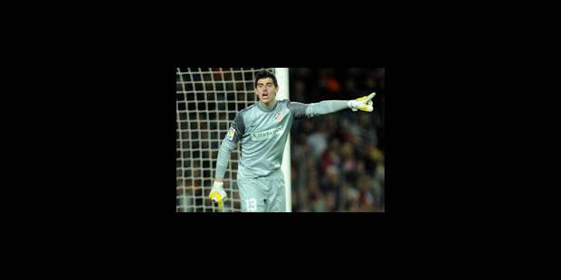 Thibaut Courtois s'offre un record en Liga
