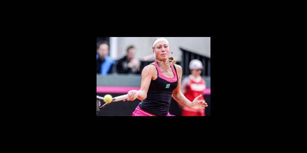 Indian Wells: Yanina Wickmayer qualifiée pour le 3e tour - La Libre