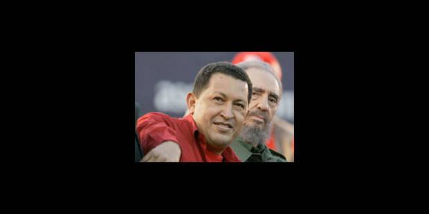 """Fidel Castro pleure Chavez, le """"meilleur ami"""" de Cuba - La Libre"""