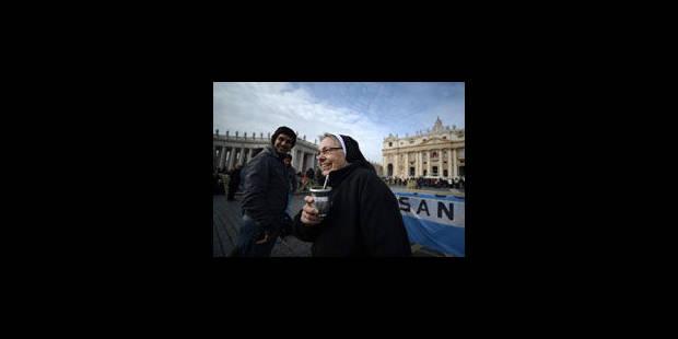 Le pape François célèbre une messe avant son premier Angélus - La Libre