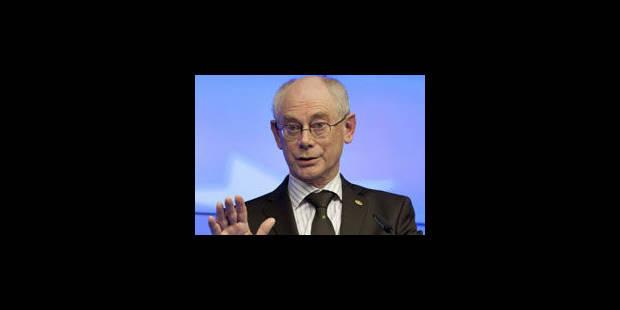 Herman Van Rompuy quittera la politique fin 2014 - La Libre