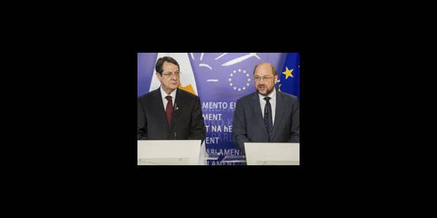 """Chypre : le Président du Parlement européen prône une solution """"socialement acceptable"""" - La Libre"""
