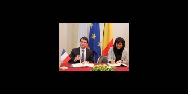 Accord franco-belge sur la sécurité - La Libre