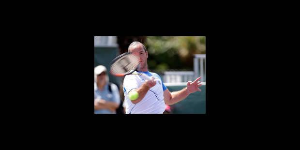 Miami: Xavier Malisse se hisse au 2e tour - La Libre