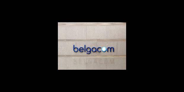 Belgacom bombe le torse