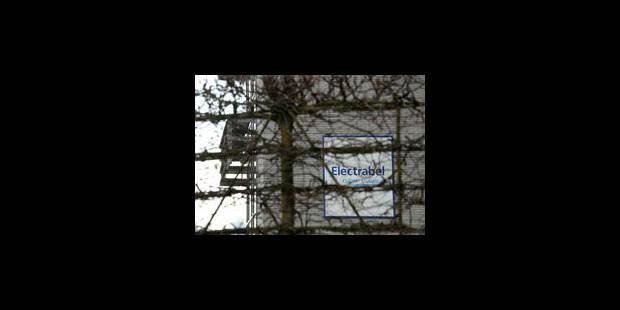 Manif contre le nucléaire devant Electrabel - La Libre