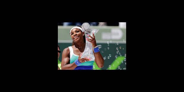 Serena Williams remporte son 6e titre à Miami - La Libre