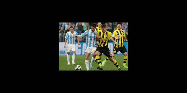 Malaga et Dortmund partagent (0-0) - La Libre