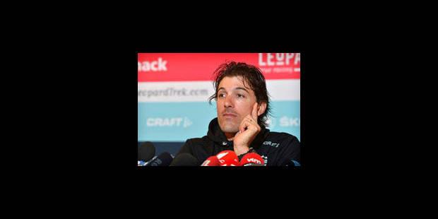 """Cancellara: """"Paris-Roubaix est une course difficile à maitriser"""" - La Libre"""