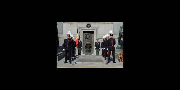 La Belgique rend hommage à ses militaires décédés en opération - La Libre