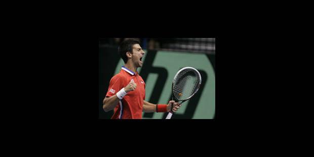Djokovic en larmes lors d'une conférence de presse