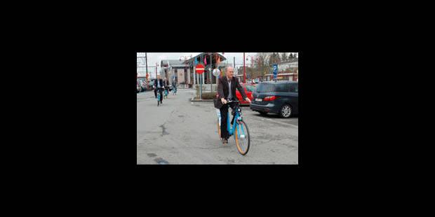 Le vélo électrique partagé arrive en gare - La Libre