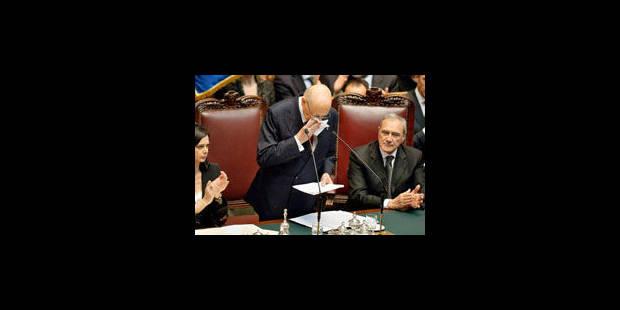 Napolitano fait la leçon à la classe politique italienne - La Libre