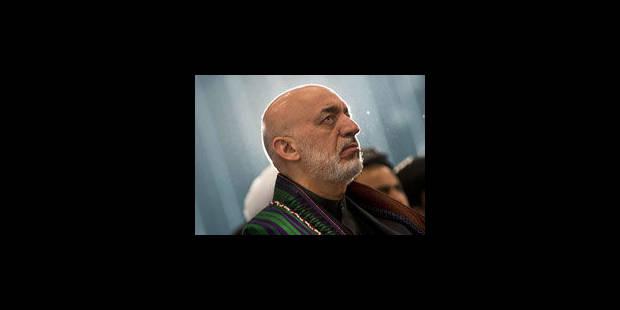 Hamid Karzaï attendu mardi après-midi à Bruxelles - La Libre