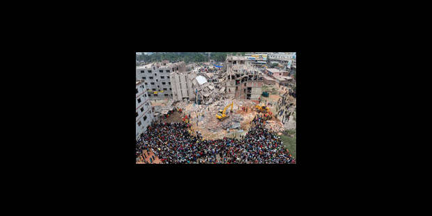 200 morts dans l'effondrement d'un immeuble au Bangladesh - La Libre