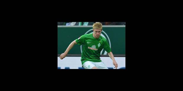 Les Belges à l'étranger (04/05): De Bruyne marque, mais le Werder concède le nul