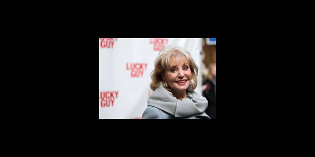 Barbara Walters quitte le petit écran - La Libre