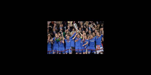 Chelsea remporte l'Europa League sur le fil (1-2)