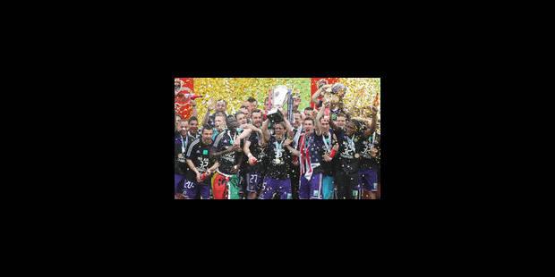 Anderlecht remporte le titre