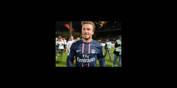 David Beckham arrête sa carrière - La Libre