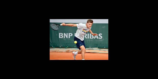 Roland Garros: Goffin tire Djokovic, Darcis contre Llodra - La Libre