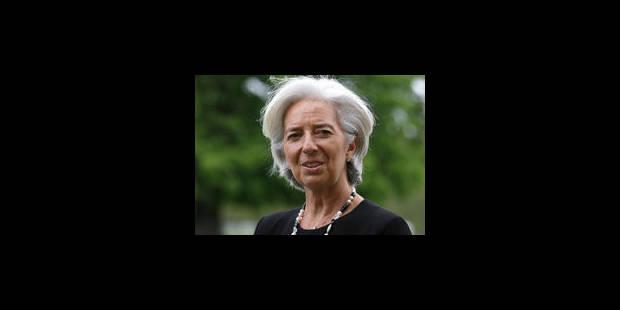 Le Jour J de Christine Lagarde - La Libre