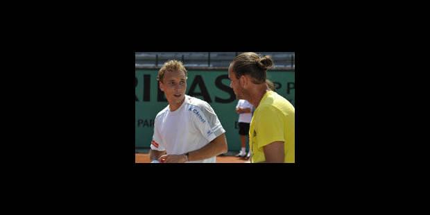Roland Garros : Xavier Malisse et Steve Darcis au programme ce dimanche - La Libre