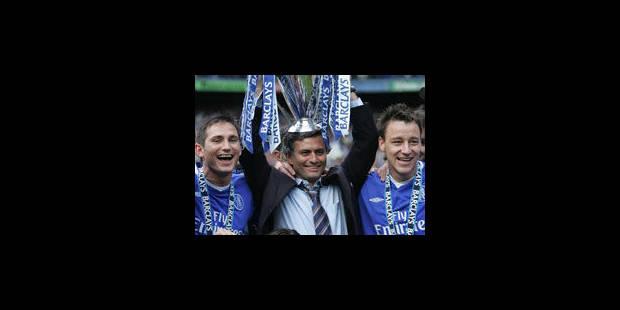 José Mourinho de retour à Chelsea pour 4 ans - La Libre
