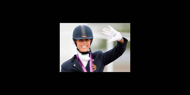 Nouvelle médaille d'or pour Michèle George - La Libre