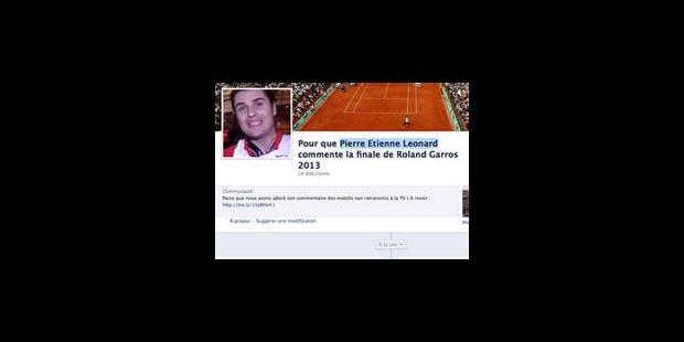 Sanction pour le commentateur siphonné de Roland-Garros - La Libre